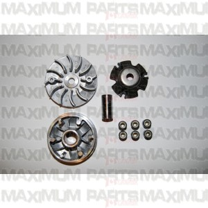 M150-1071000 Variator / Movable Drive Pulley Assy GY6 150 Top