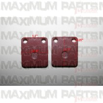 Go Kart / Dune Buggy Rear Brake Pad 7.020.022 Top